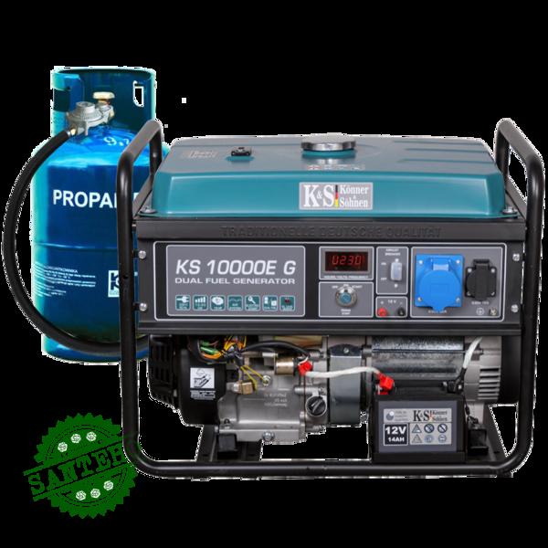 Газобензиновий генератор Konner & Sohnen KS 10000E G, купить Газобензиновий генератор Konner & Sohnen KS 10000E G