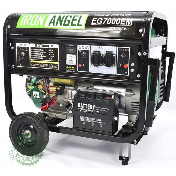 Генератор Iron Angel EG 7000 EМ, купить Генератор Iron Angel EG 7000 EМ
