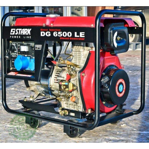 Генератор дизельный Stark DG 6500 LE, купить Генератор дизельный Stark DG 6500 LE