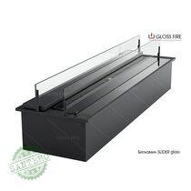 Дизайнерский биокамин Slider glass, купить Дизайнерский биокамин Slider glass