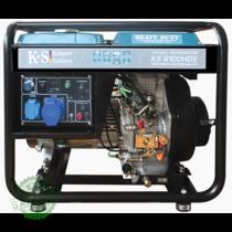 Дизельный генератор Konner & Sohnen KS 6100HDE, купить Дизельный генератор Konner & Sohnen KS 6100HDE