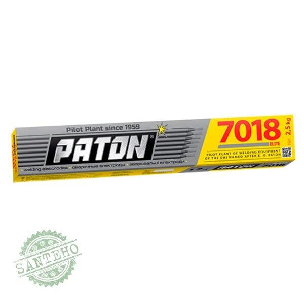 Зварювальні електроди Патон 7018 ELITE