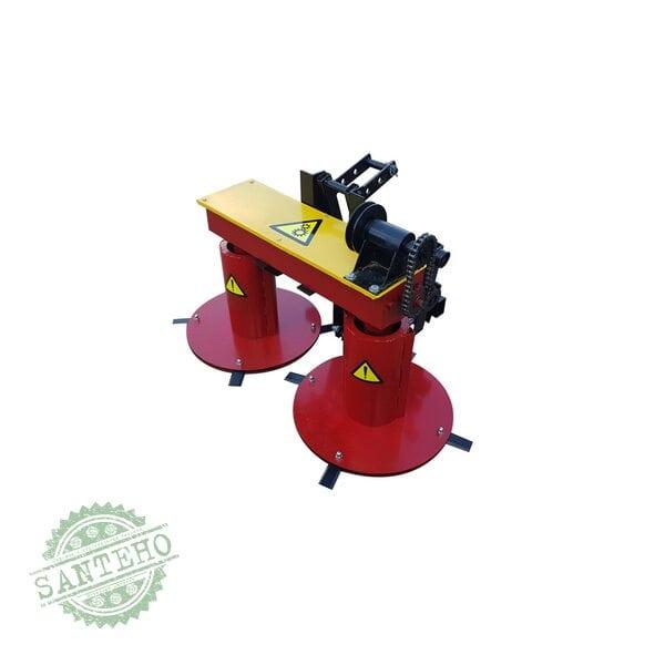 Косилка роторная мототракторная Володар КР-1,1 ПМ-2 под гидравлику (ширина кошения 110 см, без гидроцилиндра)