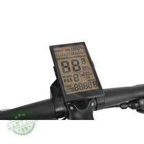 Велосипед на акумуляторної батареї HECHT GRIMIS BLACK, купити Велосипед на акумуляторної батареї HECHT GRIMIS BLACK