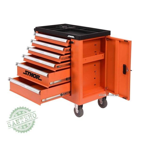 Шкаф для инструментов на колесах STHOR 58561