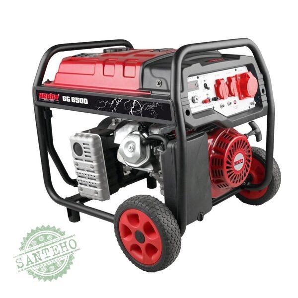 Бензиновый генератор HECHT GG 6500, купить Бензиновый генератор HECHT GG 6500