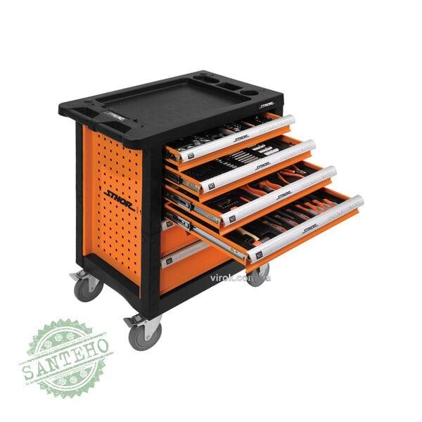 Шкаф с инструментами на колесах STHOR 58550