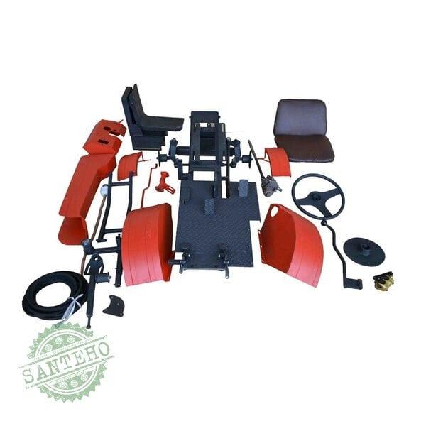 Адаптер-мототрактор ЕВРО-Т3 БелМет для мотоблока с водяным охлаждением