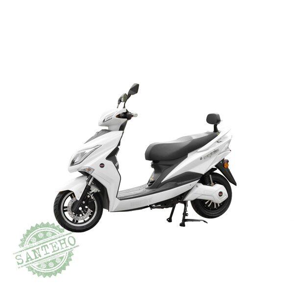 Скутер электрический HECHT EQUIS-WHITE, купить Скутер электрический HECHT EQUIS-WHITE