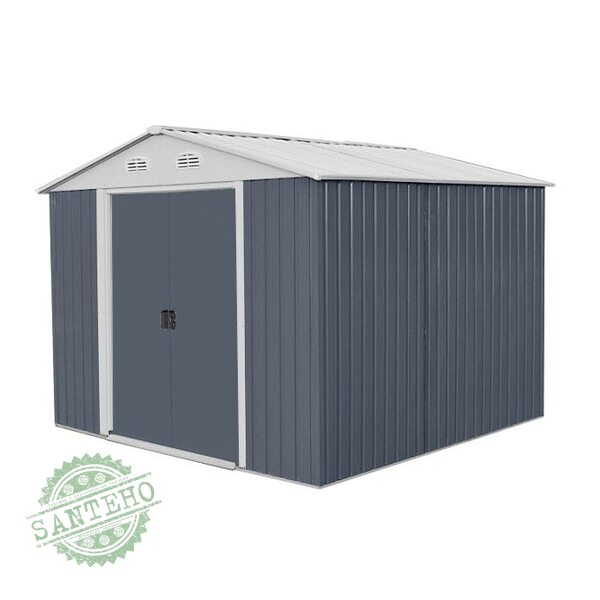 Садовый домик металлический HECHT 10X10 PLUS, купить Садовый домик металлический HECHT 10X10 PLUS