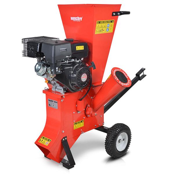 Садовый бензиновый измельчитель веток HECHT 6421, купить Садовый бензиновый измельчитель веток HECHT 6421