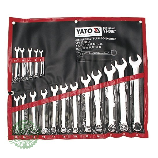 Набор ключей комбинированных Yato YT-0067
