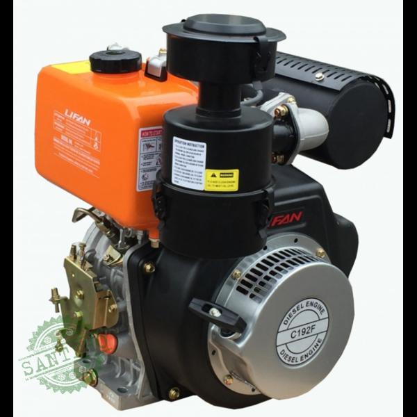 Дизельный двигатель LIFAN C192FD