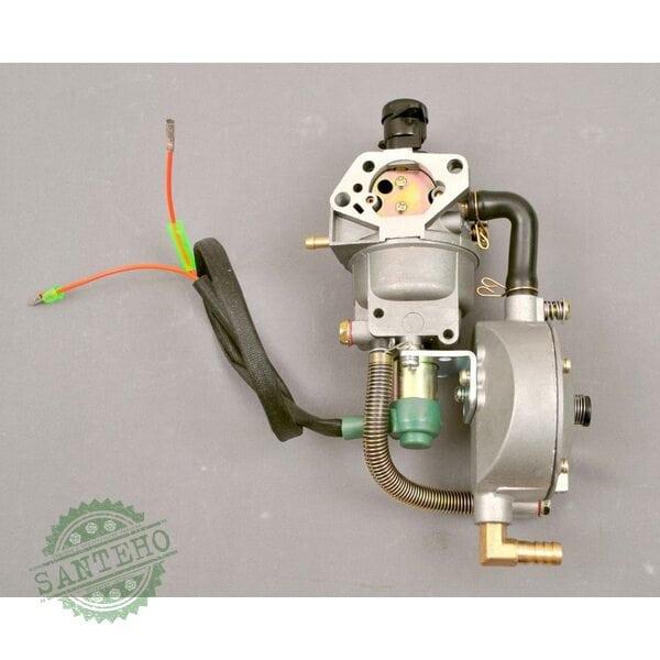 Газовый комплект для генераторов. Карбюратор бензин- газ с редуктором (5,0-6,0кВт)