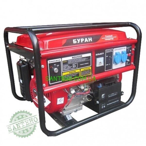 Газовый генератор БУРАН NG 6500 E