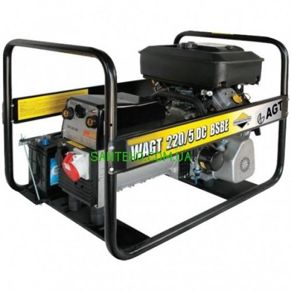 Сварочный генератор AGT WAGT 220/5 DC BSBE, купить Сварочный генератор AGT WAGT 220/5 DC BSBE