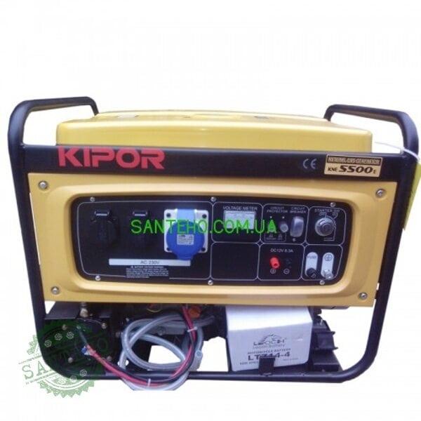 Газовый генератор KIPOR KNE 5500E, купить Газовый генератор KIPOR KNE 5500E