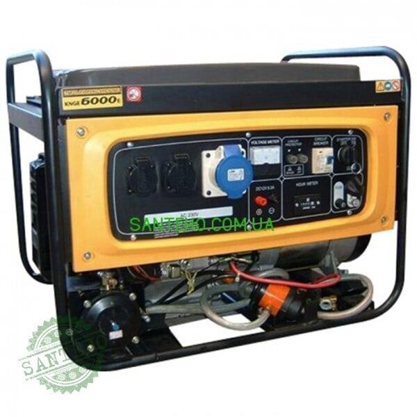 Газовий генератор KIPOR KNGE6000E3