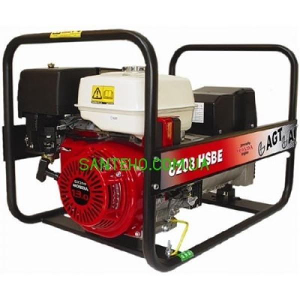 Трехфазный бензиновый генератор AGT 8203 HSBE, купить Трехфазный бензиновый генератор AGT 8203 HSBE