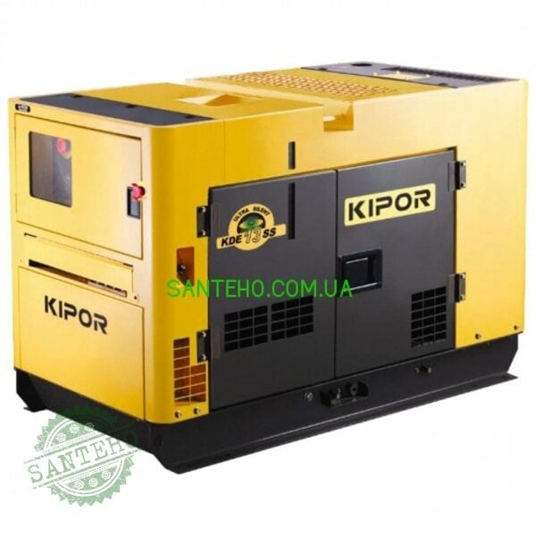 Трехфазный генератор KIPOR KDE13SS3, купить Трехфазный генератор KIPOR KDE13SS3