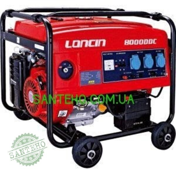 Бензогенератор Loncin LC80000DDC, купить Бензогенератор Loncin LC80000DDC