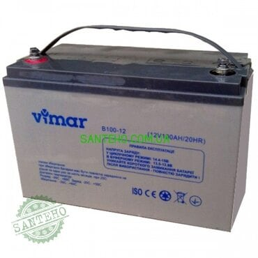 Гелевый аккумулятор VIMAR BG110-12 12В 110АЧ