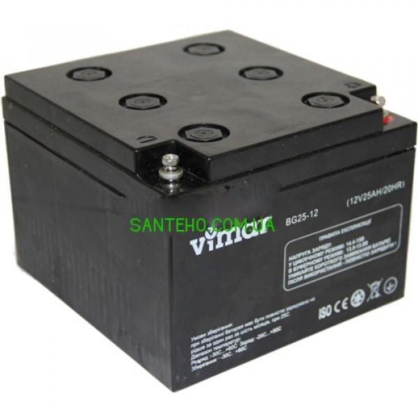 Гелевый аккумулятор VIMAR BG25-12 12B 25АЧ