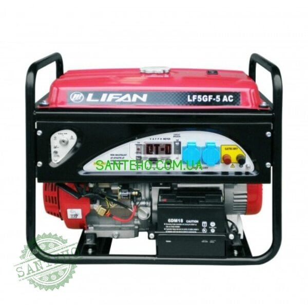 Бензиновый генератор Lifan LF5GF-5AC с автоматикой