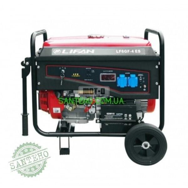 Бензиновый генератор Lifan LF6GF-4ES