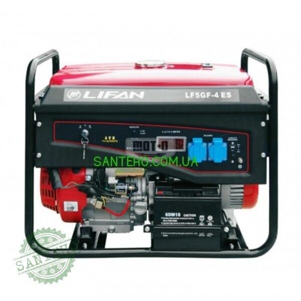 Газовый генератор Lifan LF5GF-4ES BiFuel