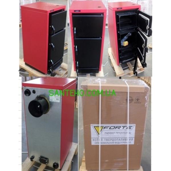 Твердотопливный котел отопления Forte BT-S 28 кВт Biotherm