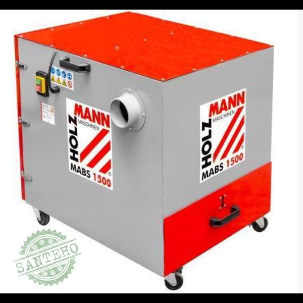 Установка аспирационная для металлической стружки Holzmann MABS1500, купить Установка аспирационная для металлической стружки Holzmann MABS1500