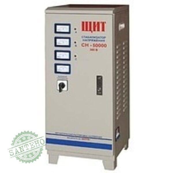Стабилизатор напряжения «ЩИТ» СН-50000VA 3-фазн. эл/мех.50.0кВт