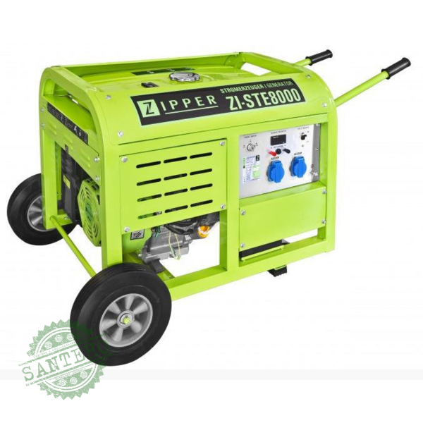 Бензиновий генератор ZIPPER ZI-STE8000, купити Бензиновий генератор ZIPPER ZI-STE8000