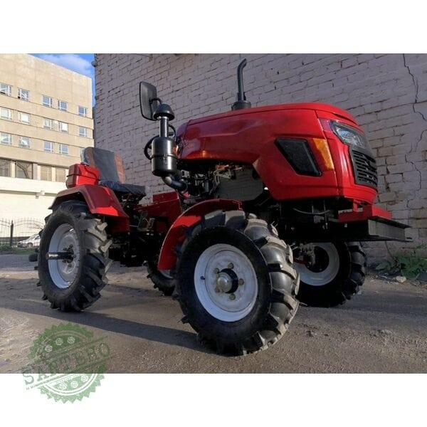 Мототрактор дизельный FORTE МТ-181LT 6.00-12/7.5-16, тракторний глушник