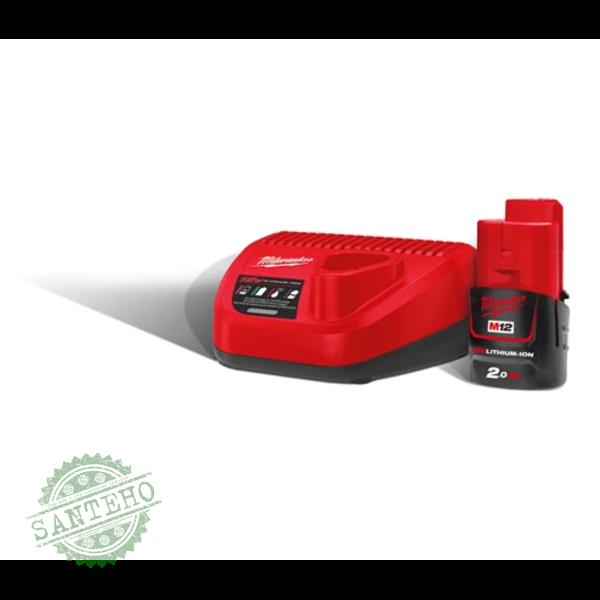 Зарядное устройство+аккумулятор MILWAUKEE М12 НРГ-201