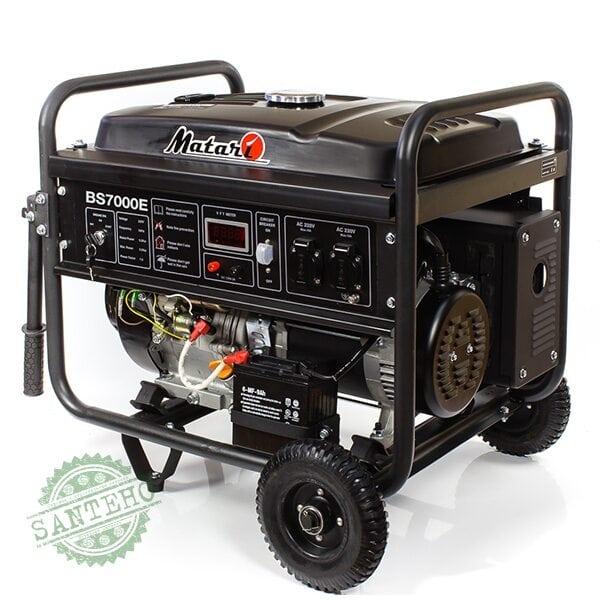 Бензиновый генератор Matari BS 7000E, купить Бензиновый генератор Matari BS 7000E