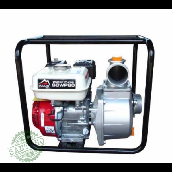 Мотопомпа бензиновая Vulkan SCWP80H для чистой воды