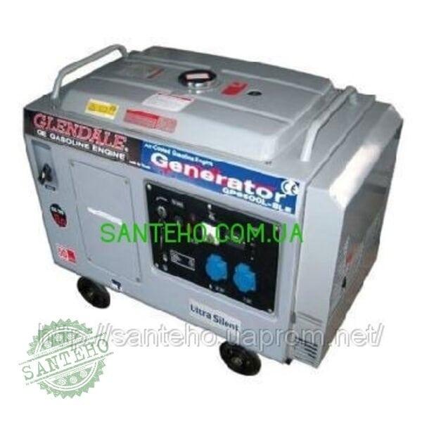 Бензиновый генератор Glendale GP6500L-SLE/1