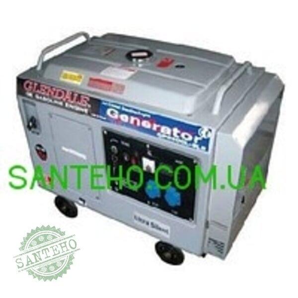 Бензогенератор GP6500L-SLE/3