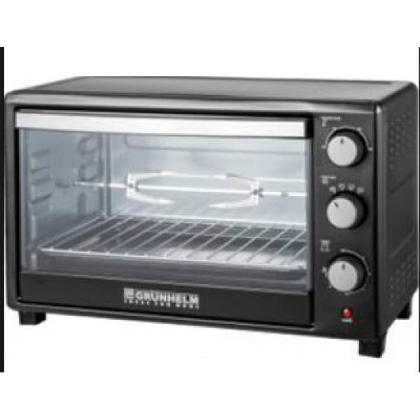 Электрическая печь с грилем Grunhelm GN45ARL(черная), купить Электрическая печь с грилем Grunhelm GN45ARL(черная)