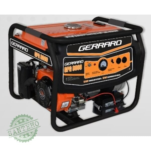 Генератор бензиновый GERRARD GPG-6500