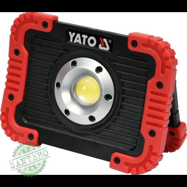 Аккумуляторный светодиодный прожектор Yato YT-81820