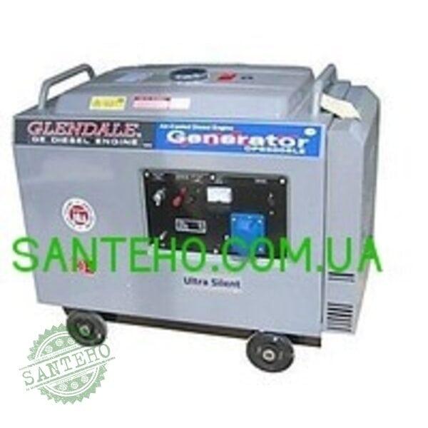 Дизельный генератор Glendale DP6500L-SLE/3 АВТОЗАПУСК