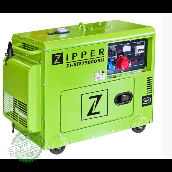 Дизельный генератор Zipper ZI-STE7500DSH, купить Дизельный генератор Zipper ZI-STE7500DSH