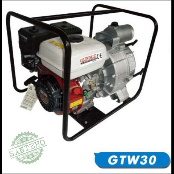 Бензиновая мотопомпа Glendale GTW30