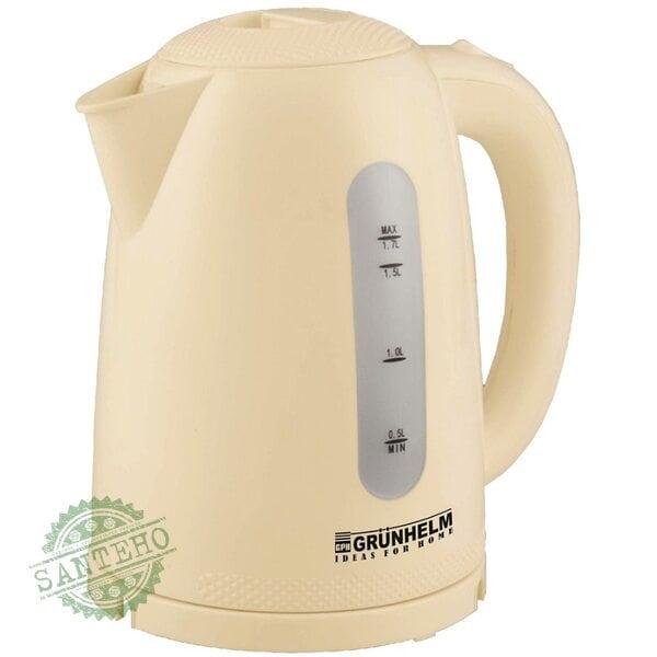 Электрический чайник GRUNHELM EKP-2217C ( бежевый )