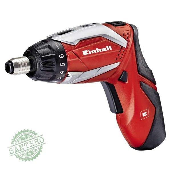 Аккумуляторная отвертка Einhell TE-SD 3,6 Li Kit New