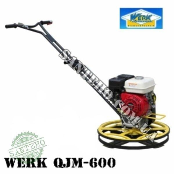 Однороторная затиральна машина WERK QJM-600
