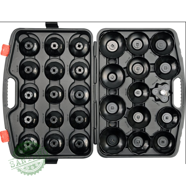 Набор торцовых ключей к масляному фильтру Yato YT-0596